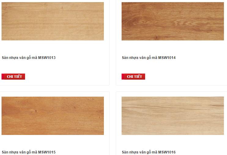 Sàn nhựa gỗ Galaxy MSW 0031