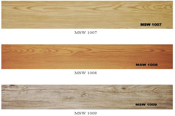 Sàn nhựa giả gỗ 1007-1009