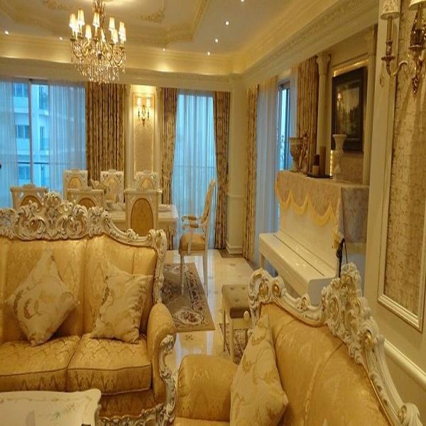 Rèm phòng khách đẹp BM 90