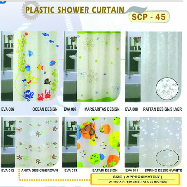 Rèm phòng tắm SCP 45