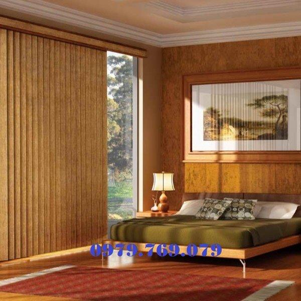 Rèm gỗ lá dọc MS014