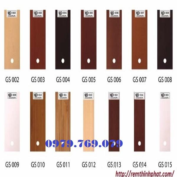 Rèm gỗ Goldsun GS