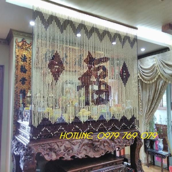 Rèm phòng thờ C013