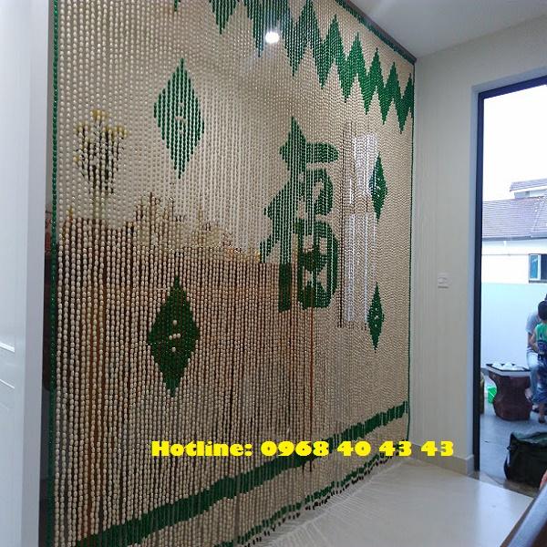 Rèm phòng thờ chữ phúc C15