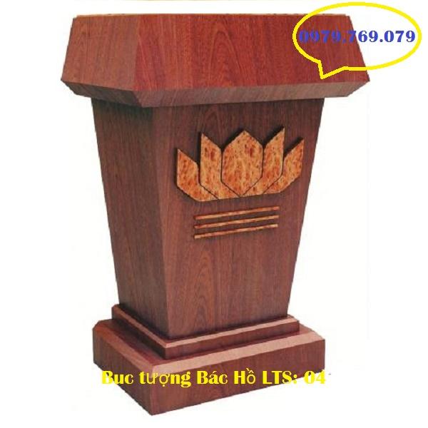 Bục tượng Bác LTS04