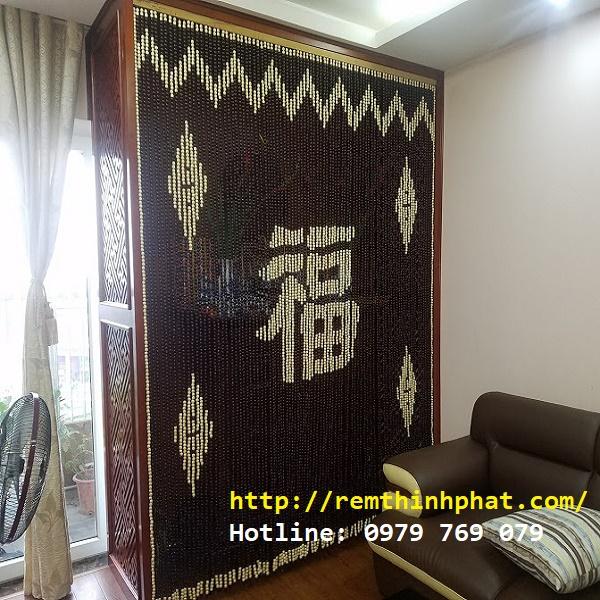 Rèm phòng thờ chữ Phúc C30