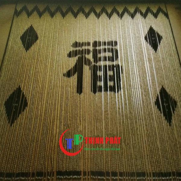 Rèm hạt gỗ chữ phúc C32